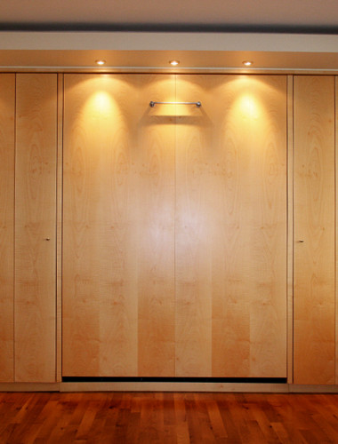 Maple Veneer Wardrobe